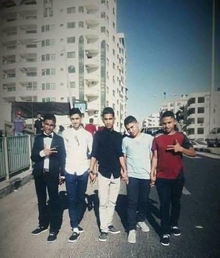 Teens in Rafah
