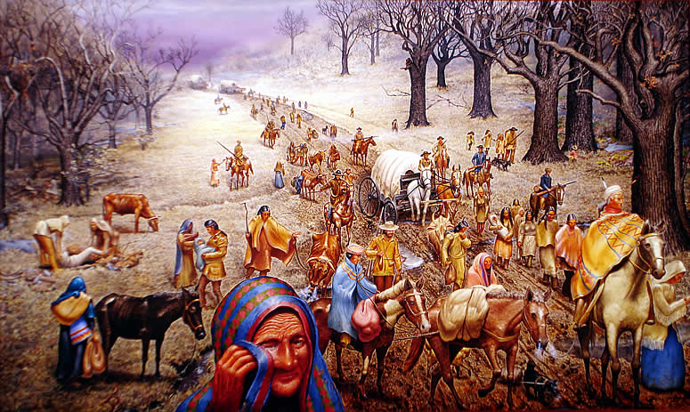 Native Americans' Trail of Tears