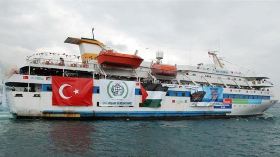 Mavi Marmara, attacked in 2010