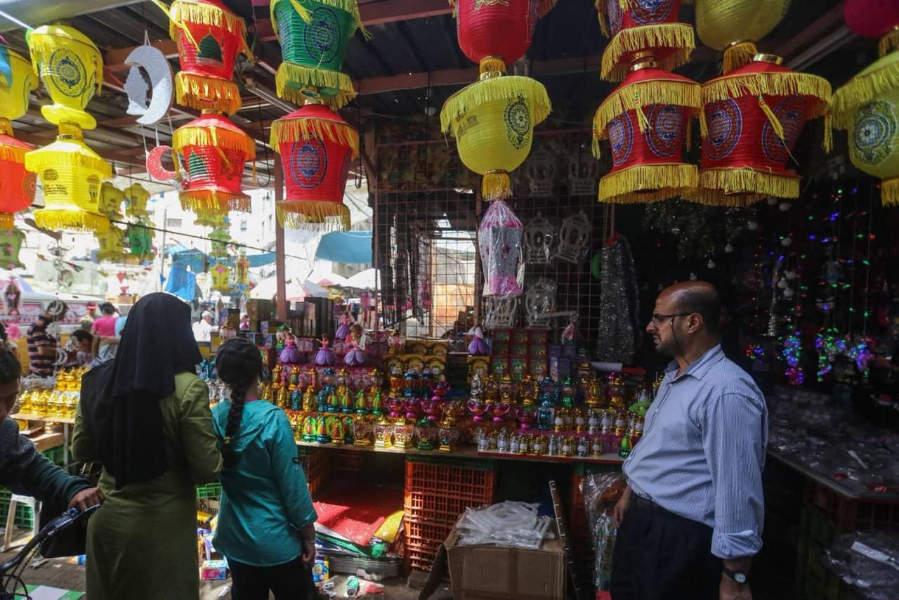 Gaza's Al-Zawiya Market