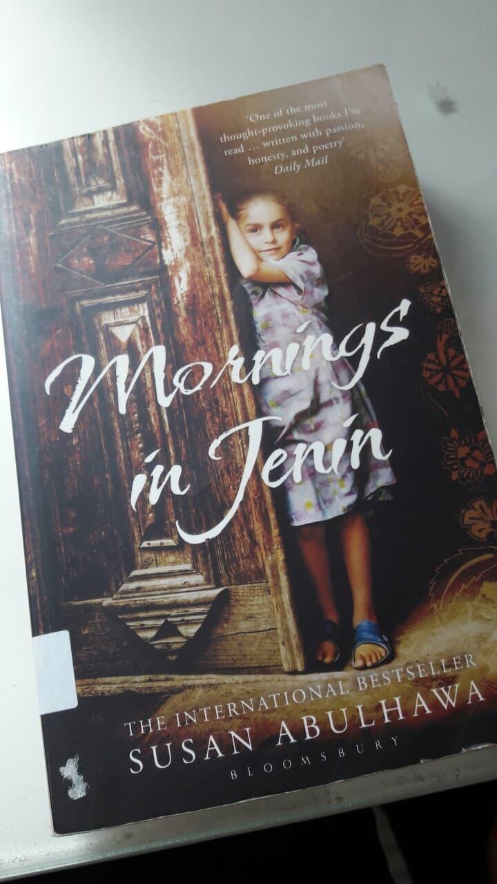 Mornings in Jenin book cover