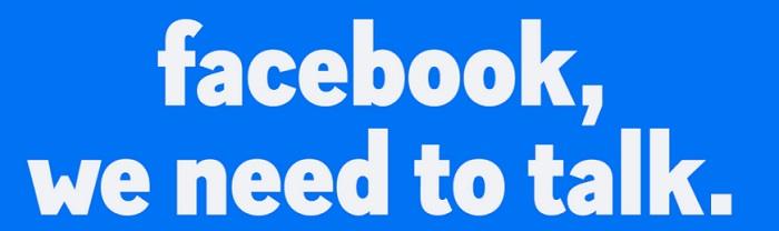 facebook we need to talk logo